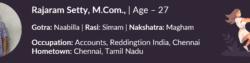 Rajaram Setty